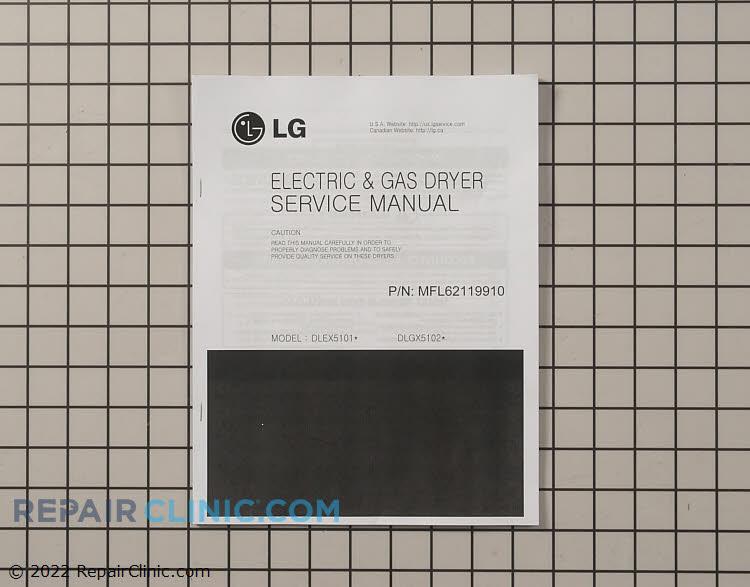 Repair Manual MFL62119910     Alternate Product View