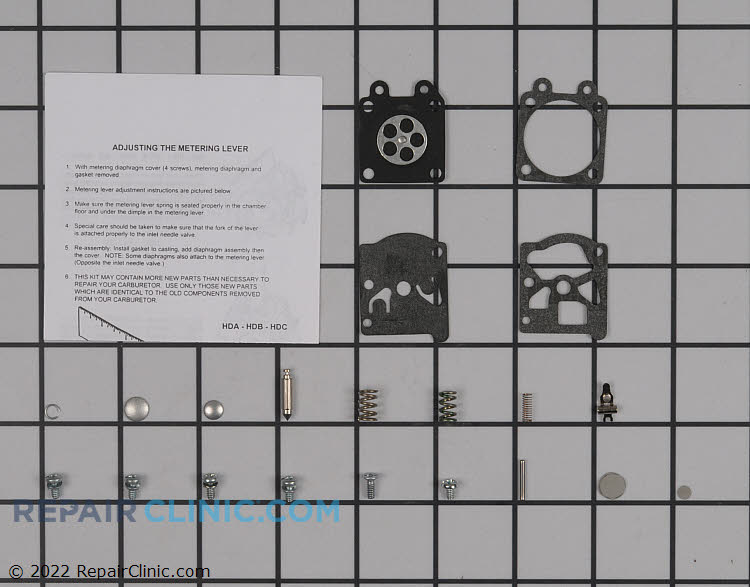 Carburetor Repair Kit 12310016330 Alternate Product View