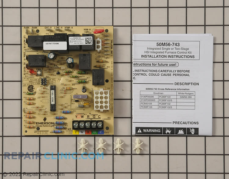 Control Board 50M56-743 Alternate Product View
