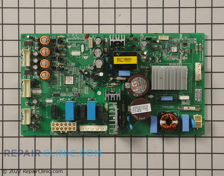 Main power control board assembly