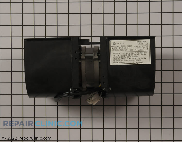 Exhaust Fan Motor 6549W1V001H     Alternate Product View
