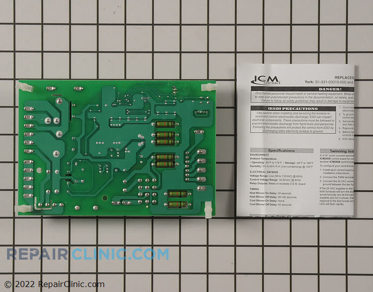 Control Board ICM2808 Alternate Product View