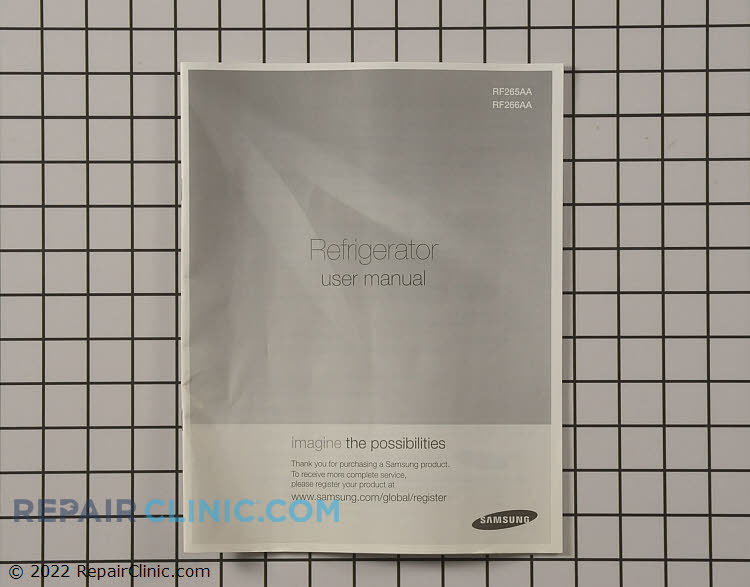 Owner's Manual DA68-01632A Alternate Product View
