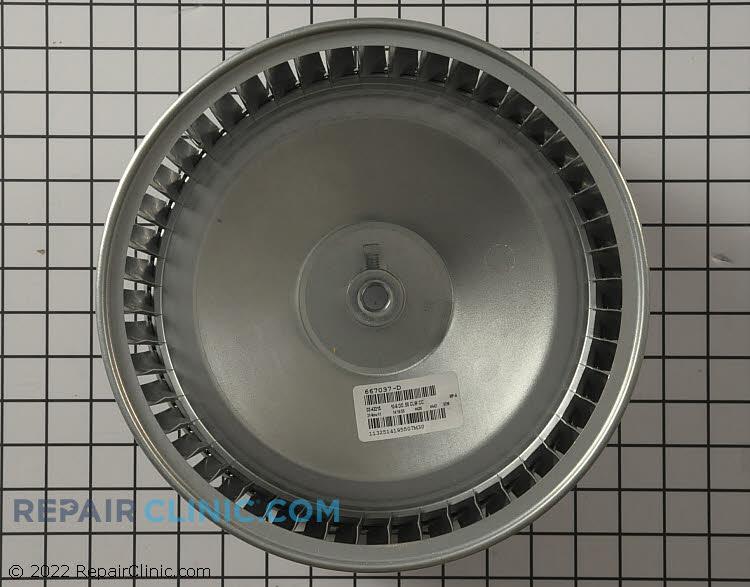 "10.5x8"" cw blower wheel"