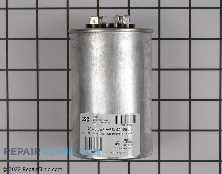 Run Capacitor, Dual 40/5 mfd 440 volt