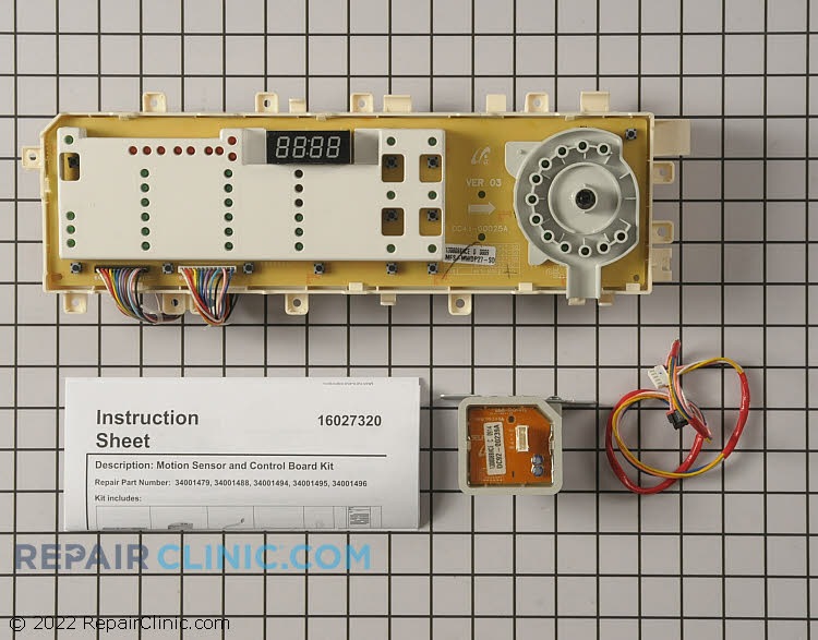 Main Control Board WP34001496 Alternate Product View