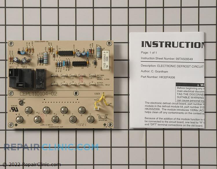 Circuit Board Timer Wb19x10001 Repaircliniccom