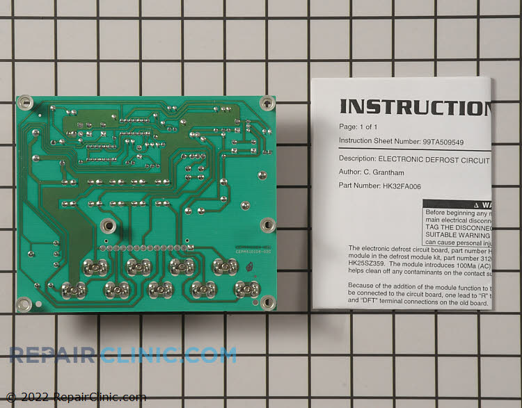 Defrost Control Board HK32FA006 Alternate Product View