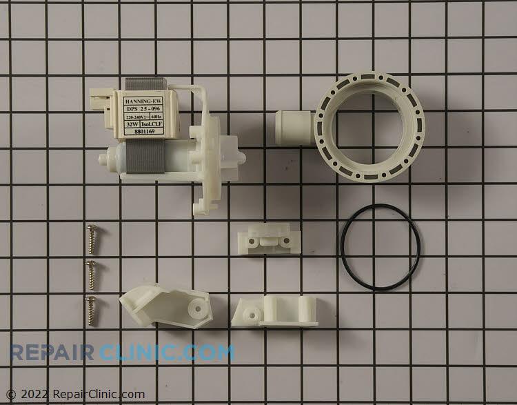 Drain Pump 8801169 Alternate Product View