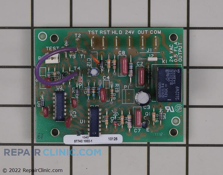 Cntrl,defrost panel mount