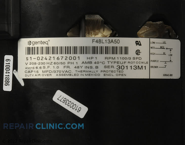 Blower Motor S1-02421672001 Alternate Product View