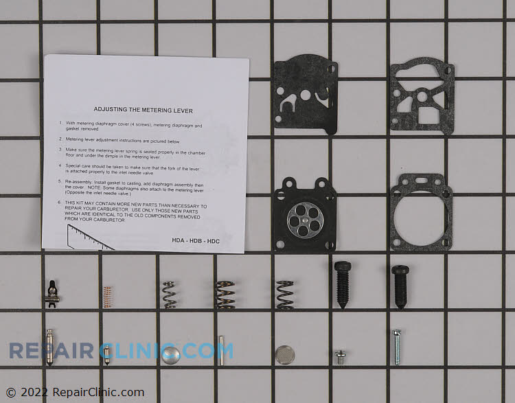 Carburetor Repair Kit 530069825 Alternate Product View