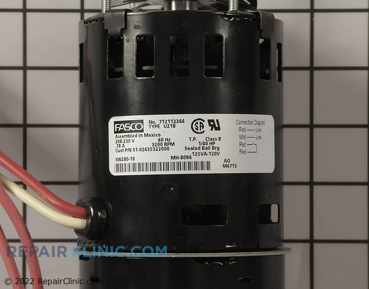 Blower Motor S1-02435322000 Alternate Product View