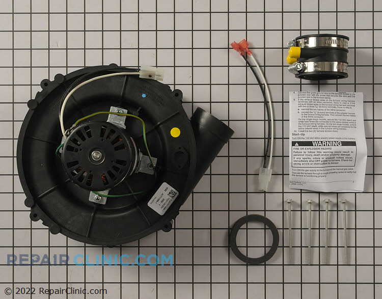 Draft Inducer Motor 1172824 Alternate Product View