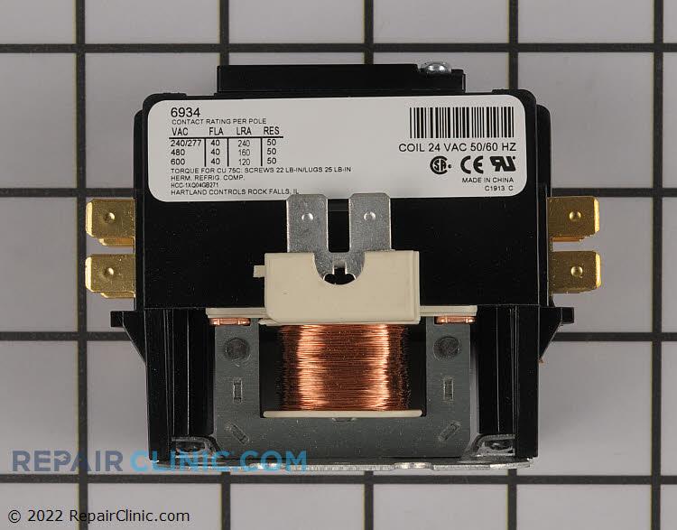 York contactor, spno 24v coil 1p 50amp