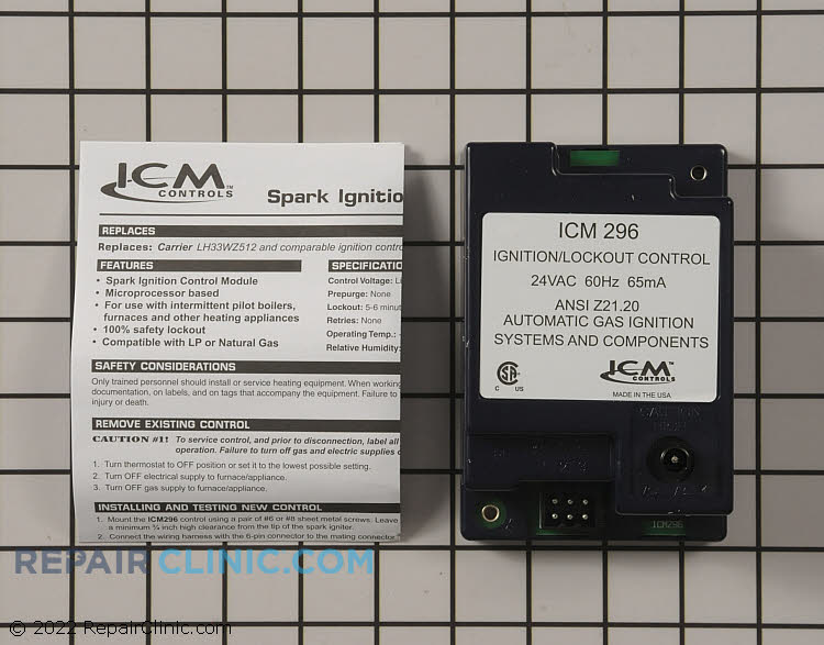 Ignition Module ICM296 Alternate Product View