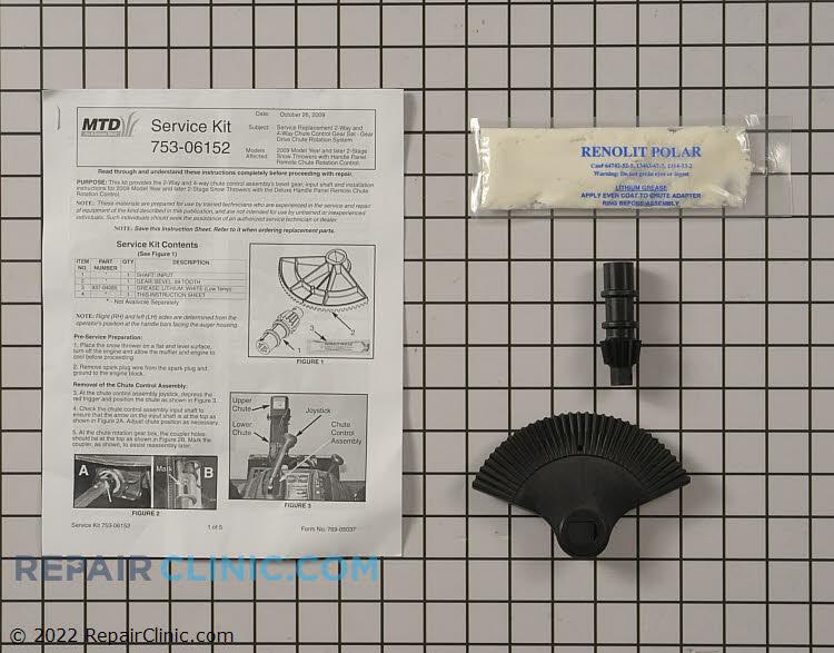 Chute Gear Kit