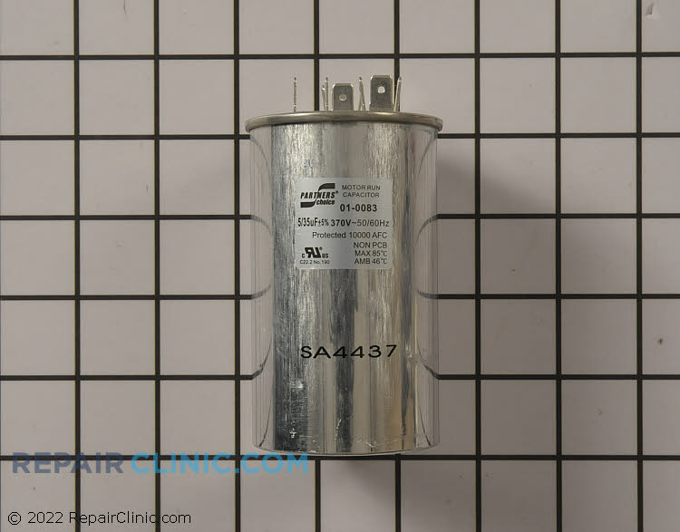 Dual Run Capacitor 01-0083 Alternate Product View