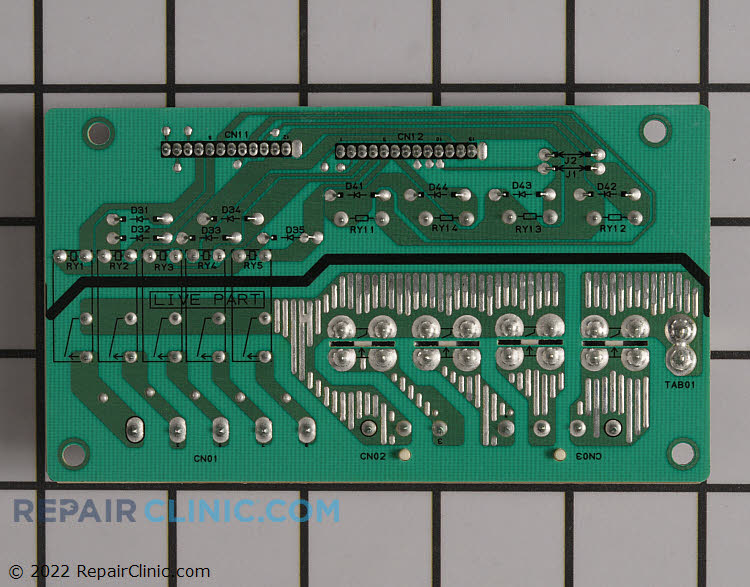 Oven Control Board EBR71261601 Alternate Product View