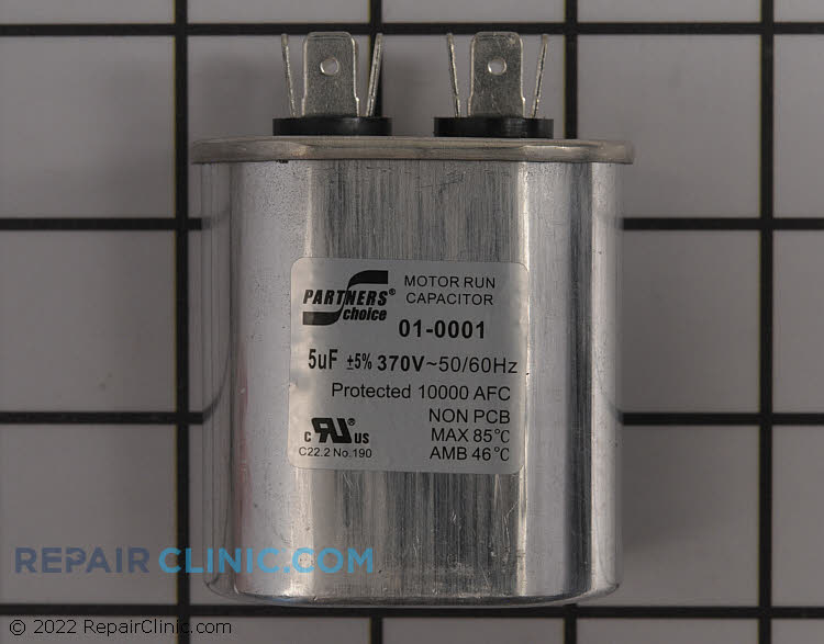 Run Capacitor 01-0001 Alternate Product View