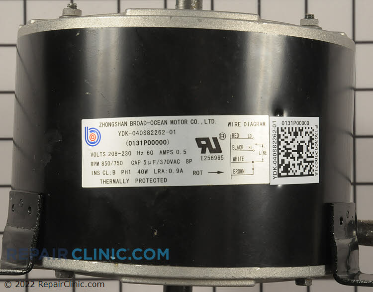 Condenser Fan Motor 0131P00000S Alternate Product View