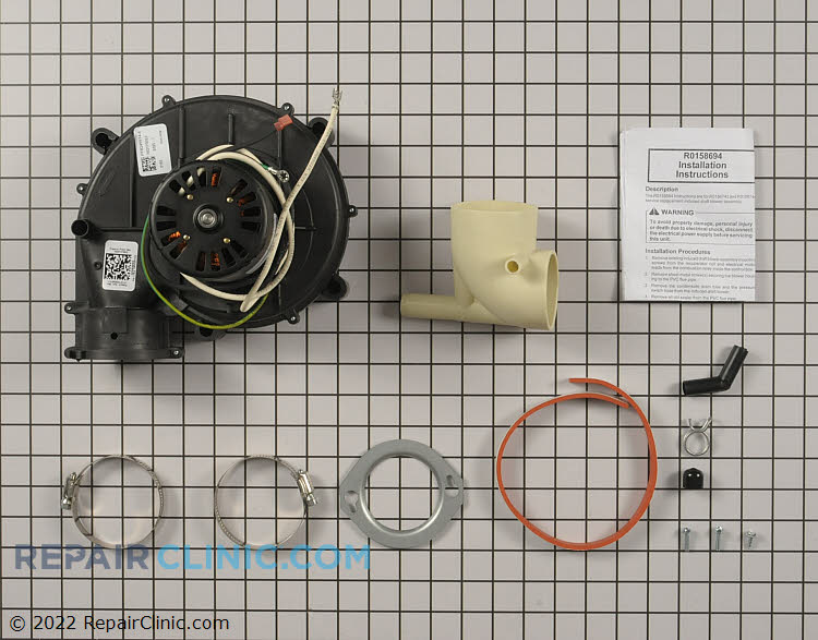 Draft Inducer Motor R0156743 Alternate Product View