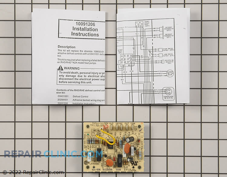 Defrost Control Board 20293901 Alternate Product View