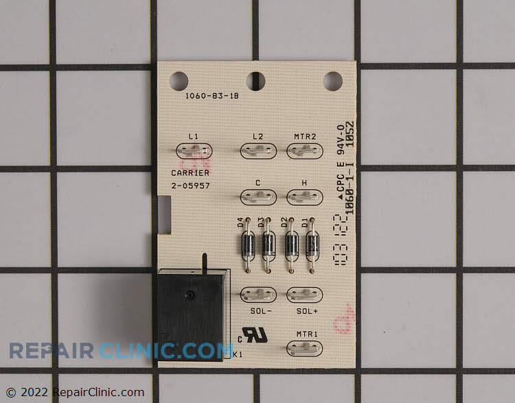 Relay Board 2-05957 Alternate Product View