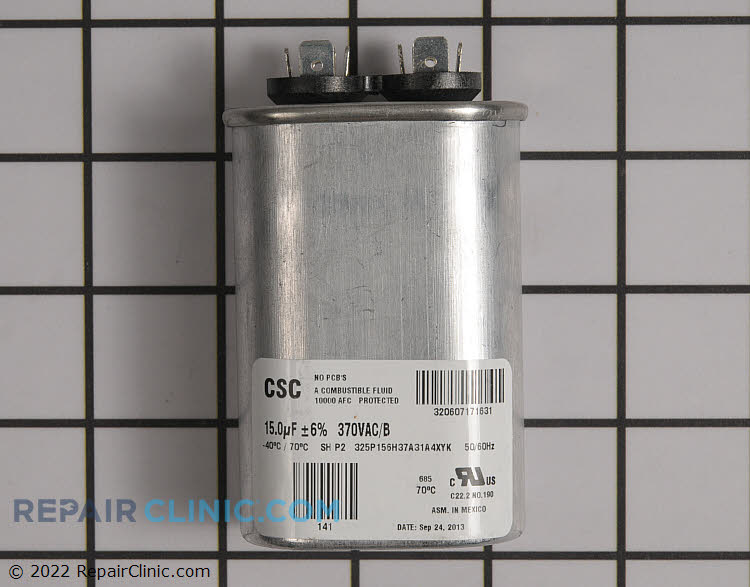 Run Capacitor S1-02425900000 Alternate Product View