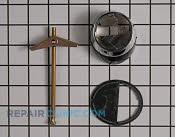 Faucet base chrome - Part # 1478776 Mfg Part # WS10X10039