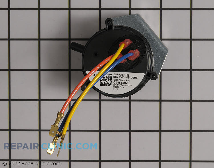 Pressure Switch C6456507 Alternate Product View