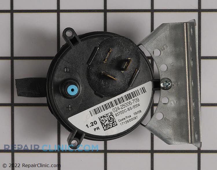Air pressure switch 1.20 iwc