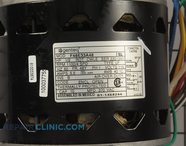 Blower Motor S1-1468-244P Alternate Product View
