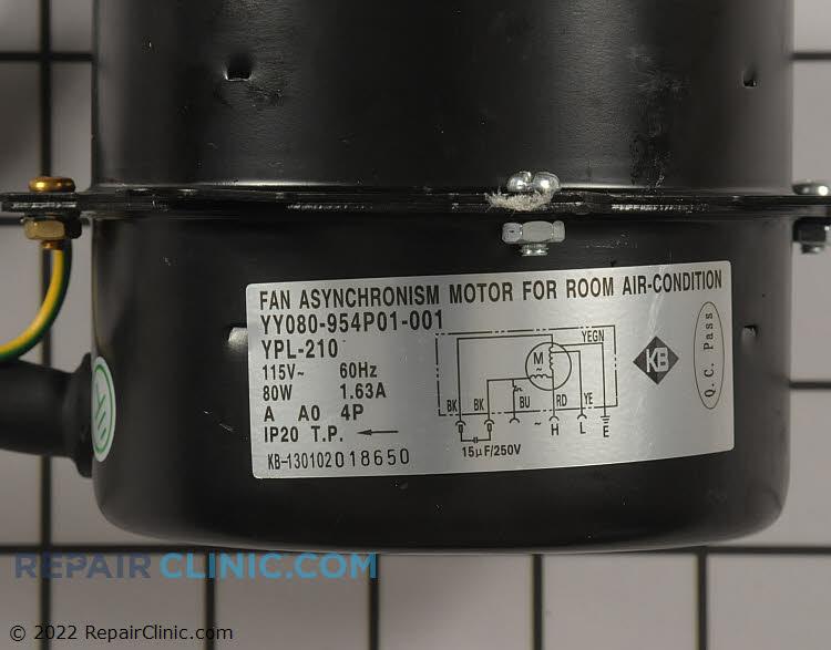 Fan Motor COV30314701 Alternate Product View