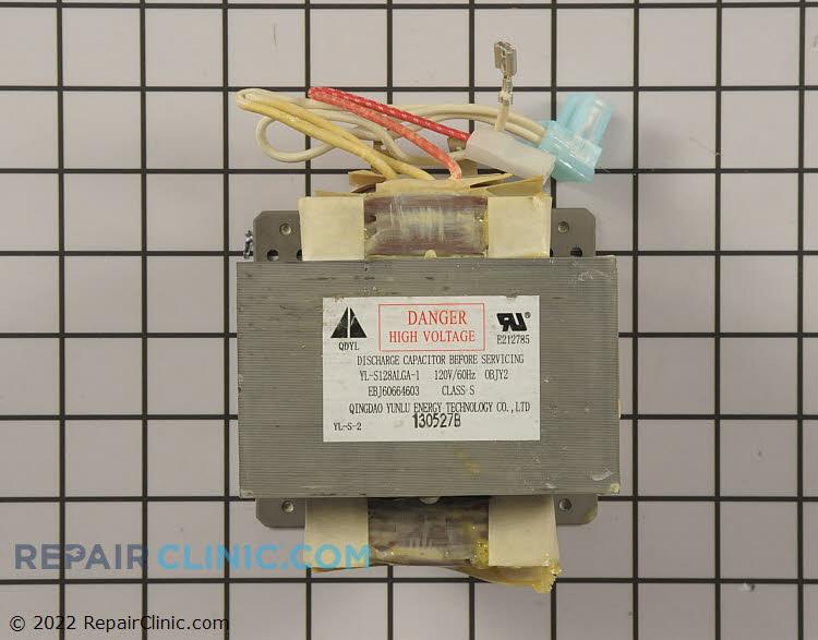 High Voltage Transformer EBJ60664603 Alternate Product View