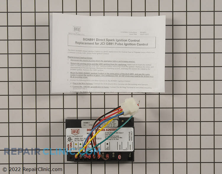 Ignition Module BGN891-1C       Alternate Product View