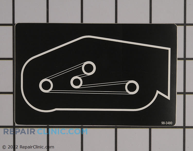 Decal 98-3480 Alternate Product View