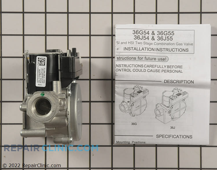 Gas Valve Assembly 0151F00000PS Alternate Product View