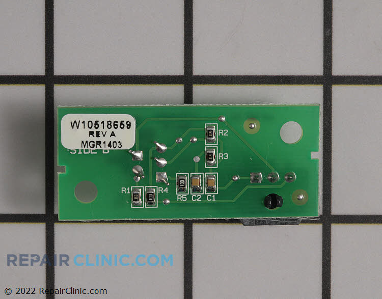 Control Board W10870822 Alternate Product View
