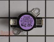 High Limit Thermostat - Part # 2311769 Mfg Part # WPW10423382