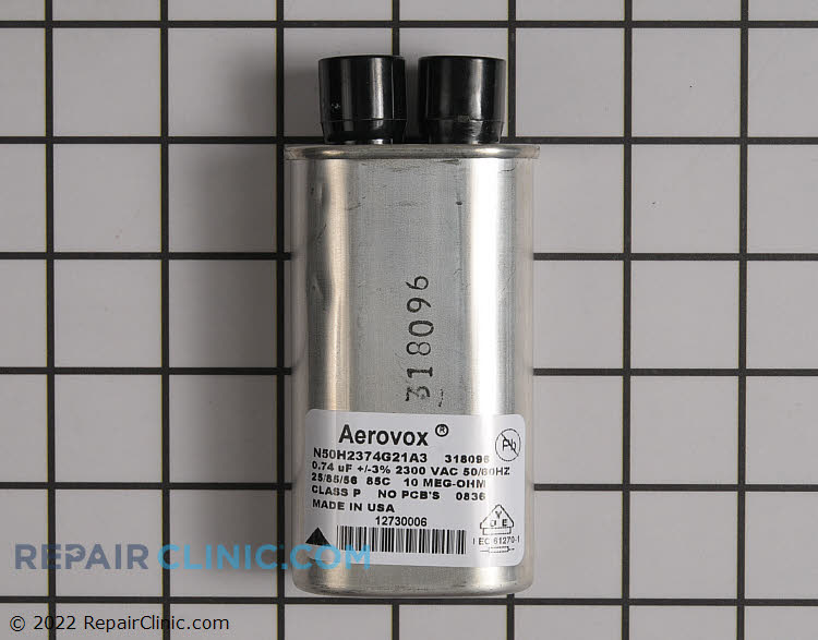 High Voltage Capacitor WP59001162 Alternate Product View