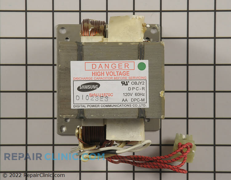 High Voltage Transformer WB27X10910      Alternate Product View