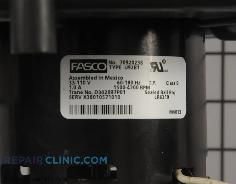 Draft Inducer Motor KIT16582        Alternate Product View