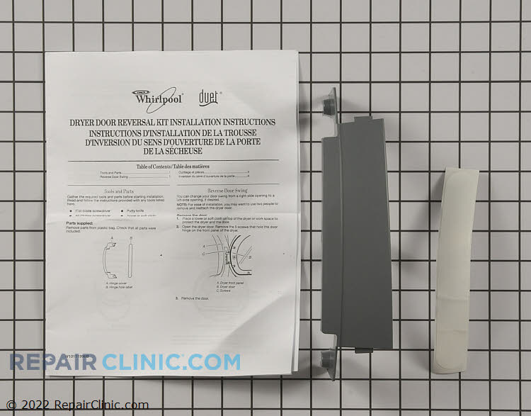 Door Reversal Kit 8579666ARP      Alternate Product View