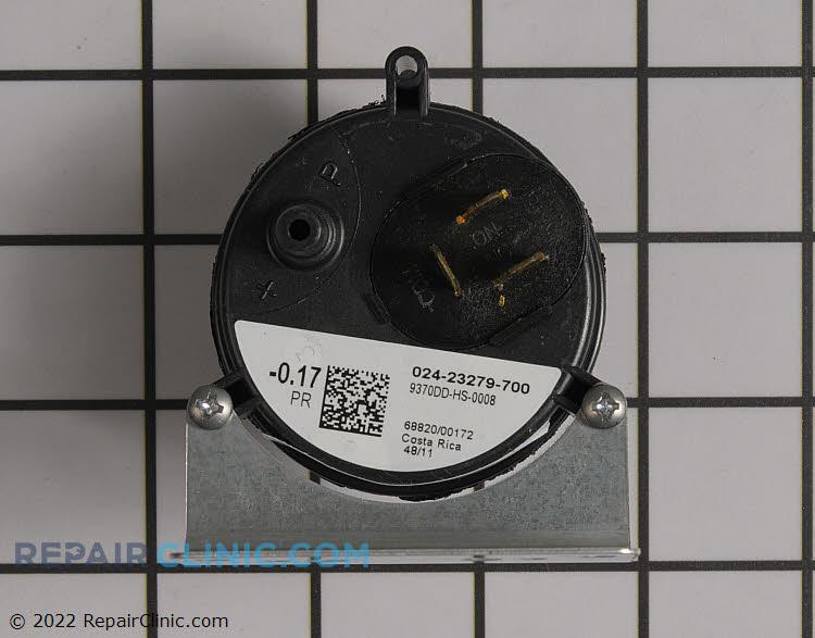 Air pressure switch .17 iwc