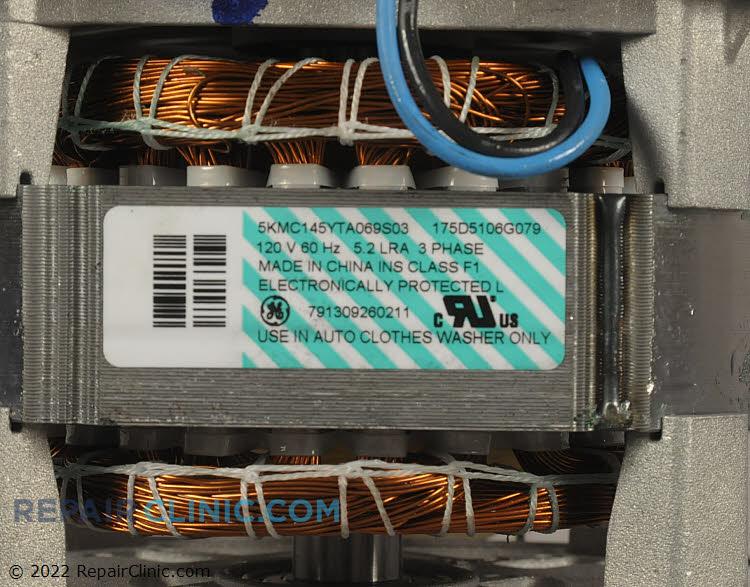 ge washing machine motor repair