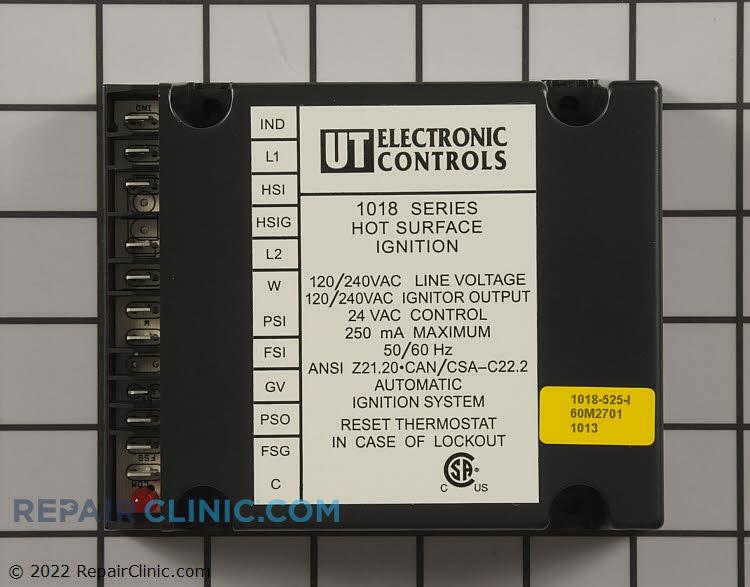 Water heater control module
