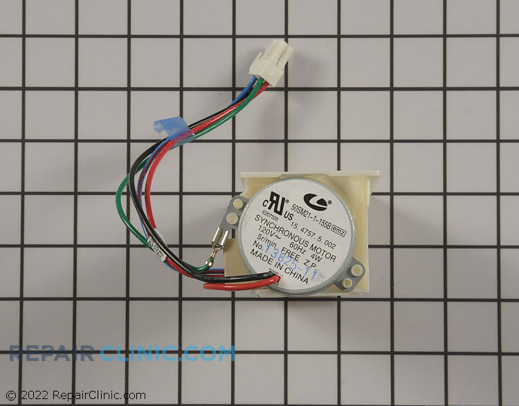 Damper Control Assembly WPW10127427 Alternate Product View