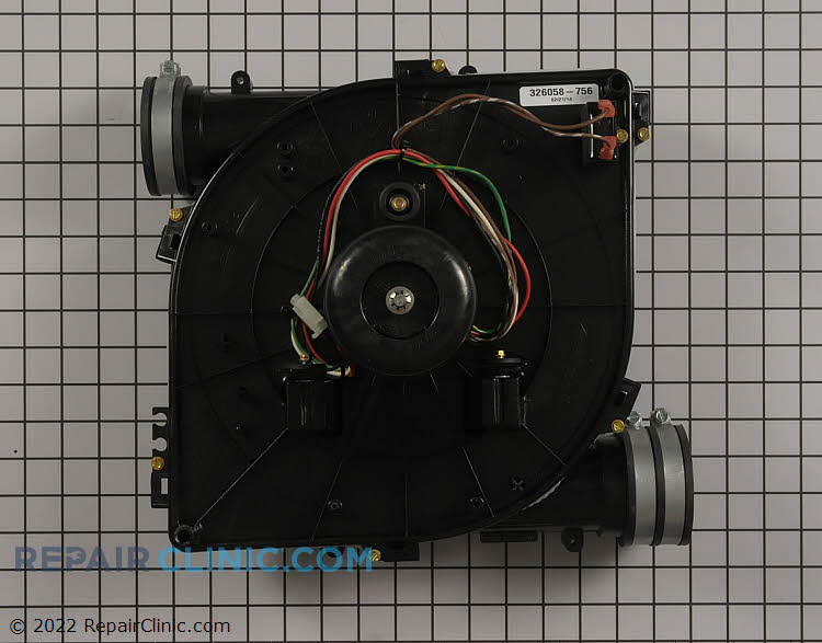 Draft Inducer Motor 326058-756 Alternate Product View