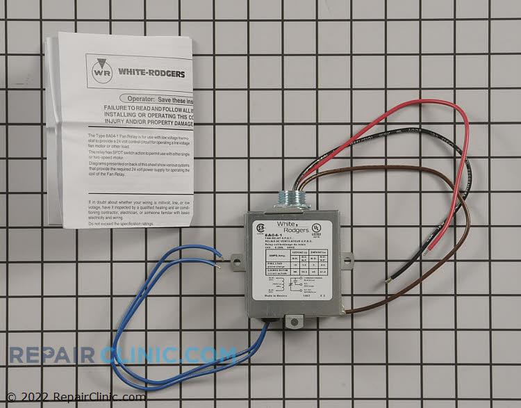 Enclosed relay